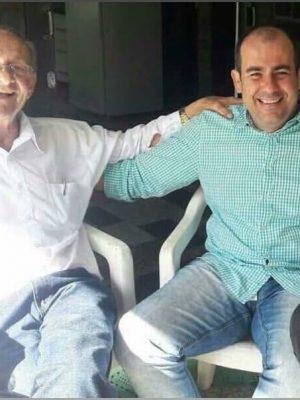 Padre Luiz Facchini e sobrinho, Vereador Rodrigo Facchini